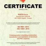 ISO  9001:2015 i ISO 14001:2015